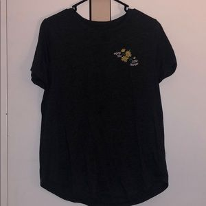 """""""enjoy the little things"""" embroidered tee"""